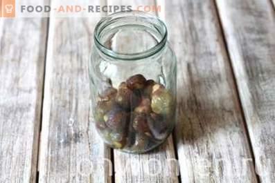 Compote de figues pour l'hiver