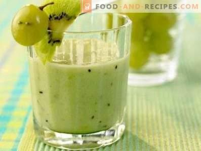 smoothies aux raisins
