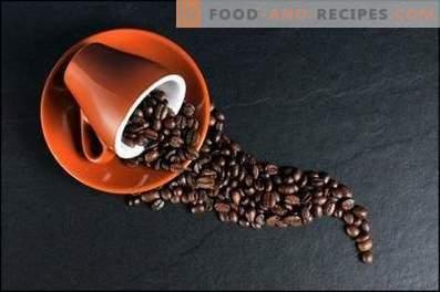 Café: recettes de cuisine