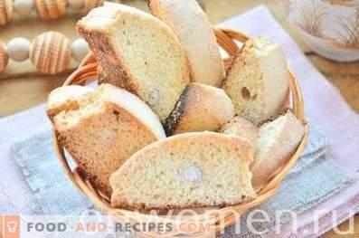 Biscotti aux cacahuètes