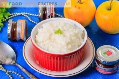 Comment faire cuire la bouillie de riz