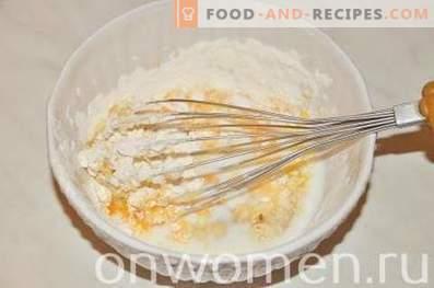 Chou-fleur avec du poulet dans la pâte