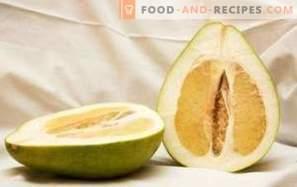 Pomelo: avantages pour la santé et les dommages