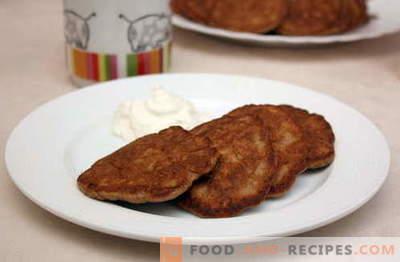 Les beignets de foie sont les meilleures recettes. Comment bien et savoureux préparer des pancakes au foie.
