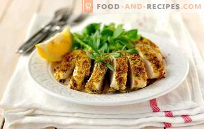 Poitrine de poulet rapide et savoureuse - c'est possible! Recettes de poitrine de poulet rapidement et savoureux dans le four, mijoteuse, dans la casserole