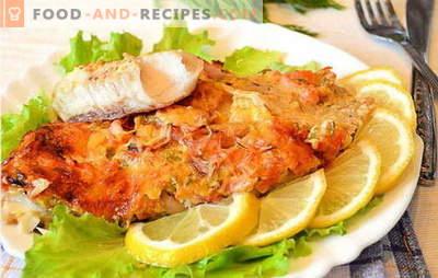 Wie man Fischfilets im Ofen zubereitet, ist lecker und einfach? Eine Auswahl an Rezepten aus Fischfilet im Ofen: mit Kartoffeln, in Folie, ursprünglich