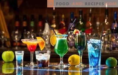 Cocktails alcoolisés du Nouvel An: recettes TOP-5. Comment sniffer magnifiquement?