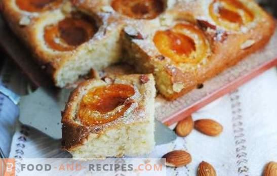 Le soleil sur une soucoupe - Les galettes d'abricots de maman au four. Pâte sucrée, feuilletée et caillée pour les tartes aux abricots au four