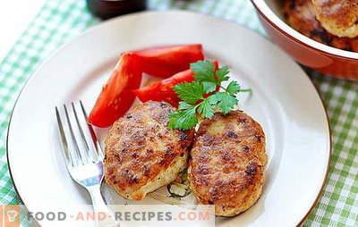 Boulettes de viande hachées maison - oui! Boulettes de viande faites maison: farcies aux pruneaux, bacon, longe