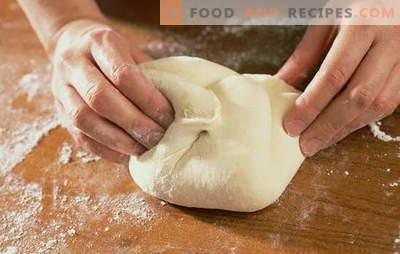 Pâte à pizza à l'eau: comment cuisiner et cuire le pain plat italien le plus simple. Recettes de pâte à pizza sur l'eau