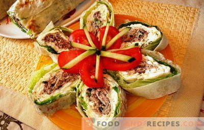 Le pain Lavash aux champignons est une excellente alternative aux sandwichs. Recettes intéressantes et façons de servir un pain pita aux champignons