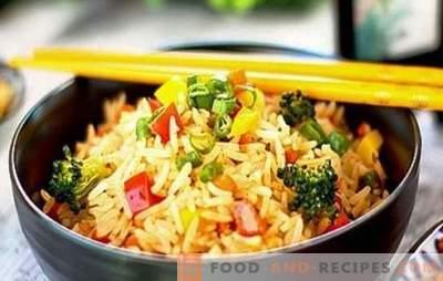 Riz avec des légumes dans une mijoteuse - rongé des deux côtés! Recettes pour différents plats de riz avec des légumes dans une cocotte