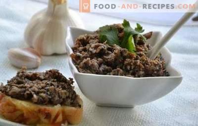 Caviar de champignons pour l'hiver - surprenez vos amis et vos proches. Comment faire cuire le caviar de champignons pour l'hiver