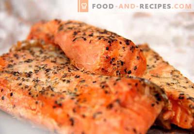 Saumon fumé - les meilleures recettes. Comment faire cuire le saumon fumé correctement et savoureux.