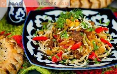 Step-by-step recipe for lagman: features of Asian cuisine. What should be the