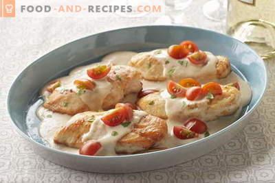 Poulet au kéfir - les meilleures recettes. Comment cuire correctement et savourer le poulet au kéfir.
