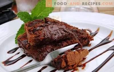 Brownies dans une mijoteuse - pour des dents sucrées au chocolat! Différentes recettes pour un dessert brownie étonnant dans une mijoteuse