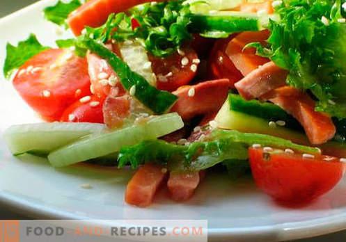 Salades A L Huile Vegetale Les Cinq Meilleures Recettes Comment