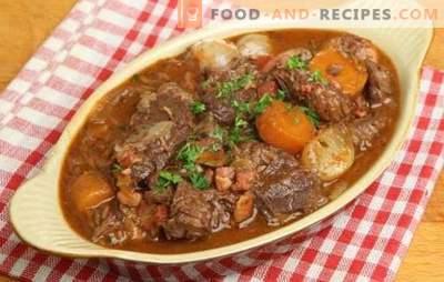 Ragoût de porc aux pommes de terre - des traditions parfumées. Comment faire cuire un ragoût de porc copieux et savoureux avec des pommes de terre