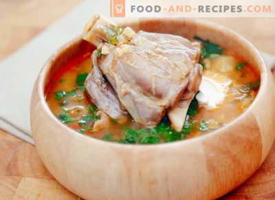 Soupe de mouton - les meilleures recettes. Comment bien et savoureux cuire la soupe d'agneau.