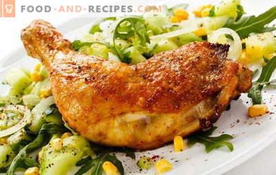 Cuisses de poulet frites dans une casserole - une façon classique de cuire de la viande. Recettes cuisses de poulet frites dans une poêle à l'ail, tomate