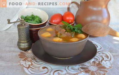 Les soupes arméniennes sont des chefs-d'œuvre parmi les premiers plats. Recettes Soupe arménienne aux légumes, lentilles, haricots, yaourt, boulettes de viande