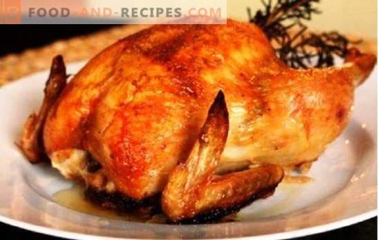 Le poulet entier dans la mijoteuse ne brûle pas, il ne sèche pas! Recettes pour la cuisson de différents poulets dans une mijoteuse entièrement