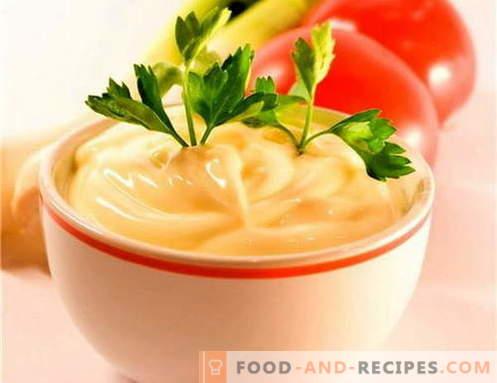 Sauce au fromage - les meilleures recettes. Comment bien cuire la sauce au fromage.