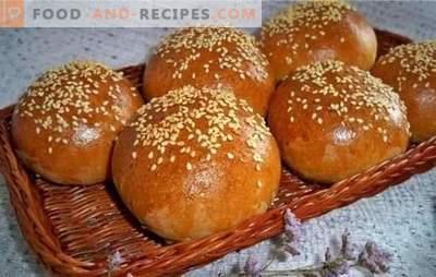 Recette de petits pains exquis: la cuisson ne fait que fondre dans la bouche! Recettes de petits pains aux graines de pavot, aux fruits secs, aux baies et aux noix