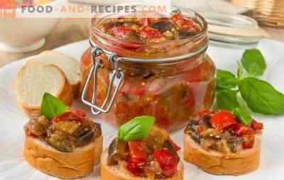 Caviar de légumes pour l'hiver - nous préservons le goût et les bénéfices, nous définissons la récolte! Recettes de différents caviar de légumes pour l'hiver