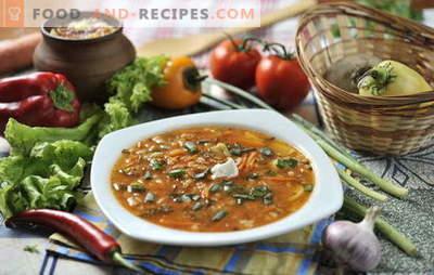 Saveur légère et soupe de cuisson: comment faire cuire le cornichon. Le secret de la préparation du cornichon parmi les produits les plus simples: rapide et savoureux
