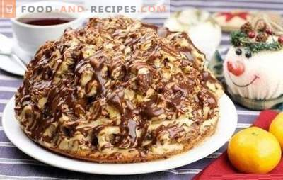 The Curly Pincher Cake is interesting and tasty! Recipes chocolate, nut, fruit cakes