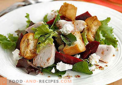 Smoked chicken breast salads - the top five recipes. How to properly and deliciously prepare salads from smoked chicken breasts.