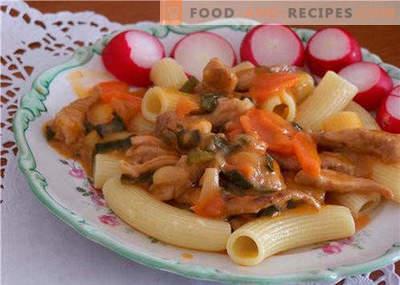 Nouilles dans une mijoteuse - les meilleures recettes. Comment bien et savoureux cuire des nouilles dans une cocotte à la maison.