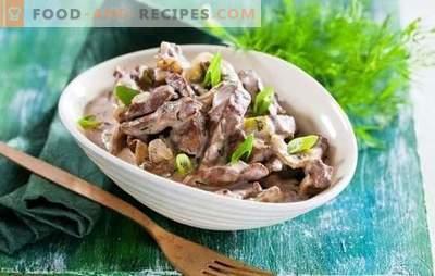 Foie de boeuf à la mijoteuse - des recettes pour tous les jours! Recettes de bœuf au foie simples, rapides et savoureuses dans une mijoteuse