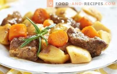 Pommes de terre avec de la viande dans une casserole - des recettes étape par étape pour des plats délicieux. Cuisine familiale: pommes de terre à la viande dans une casserole avec des recettes étape par étape