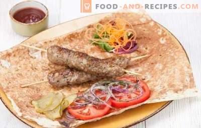 Kebab à la maison est facile! Kebab Porc, Agneau, Dinde, Poulet Ou Bœuf Maison