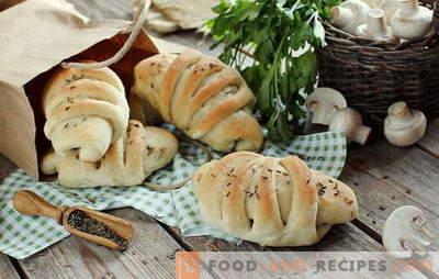 Le jeûne n'est pas un fardeau avec des tartes sans viande nourrissantes. Recettes originales de tartes aux lentilles avec différentes garnitures: vraiment savoureux