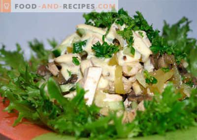 Poulet au céleri - les meilleures recettes. Comment cuire correctement et savoureux le poulet avec le céleri.