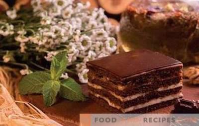 Gâteau Spartacus - recettes pour le bonheur au miel et au chocolat! Tous les secrets, astuces, différentes options et recettes du gâteau