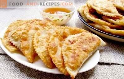 Pâtés juteux et maison rendent facile! Recettes de pâtisseries aromatisées, croquantes et juteuses à partir de différents types de pâte et de viande hachée