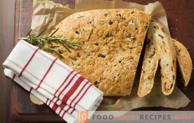 Les avantages du pain fait maison et les secrets de sa préparation - dans des recettes étape par étape. Mangez du pain fait maison: recettes éprouvées étape par étape pour la santé