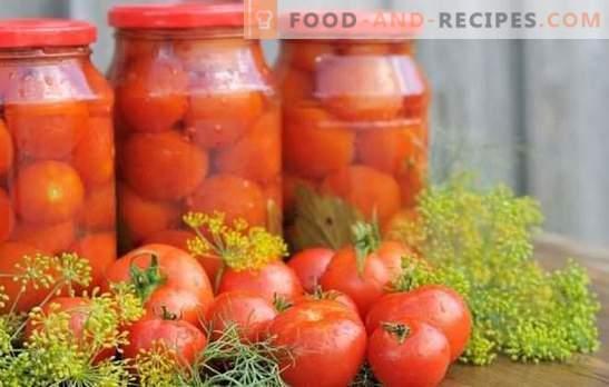 Tomates à l'aspirine: une alternative à la marinade régulière. Recettes traditionnelles et originales pour la récolte de tomates à l'aspirine