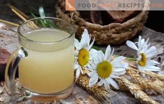 Kvass à l'avoine - donne de la fraîcheur, de la vigueur, réduit le poids! Kvass de l'avoine à la maison: les avantages et les inconvénients pour le corps