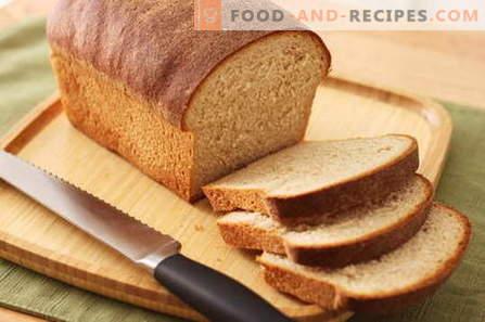 Pain dans une machine à pain - les meilleures recettes. Comment faire du pain à la maison