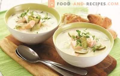 Oreille de saumon à la crème est un charme délicieux! Recettes de soupe finlandaise à la crème - secrets de santé et de succès des anciens Vikings