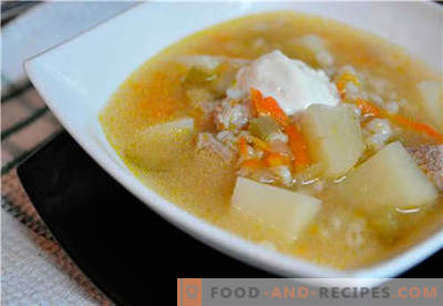 Pickle dans une mijoteuse - les meilleures recettes. Comment bien et savoureux cuire le cornichon dans une mijoteuse.