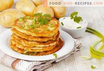 galettes de pommes de terre biélorusses