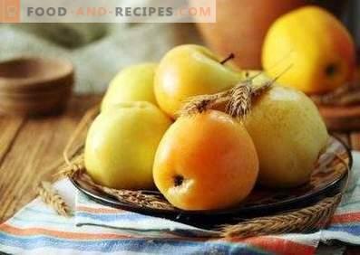 Pommes trempées