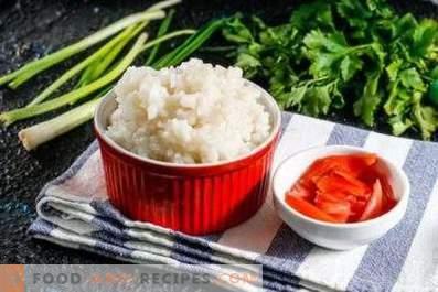 Comment faire cuire du riz pour les petits pains